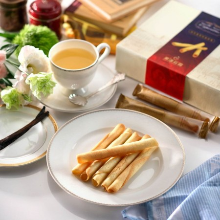 法式香草籽雪茄捲(12入)